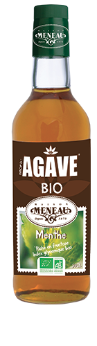 sirop agave menthe